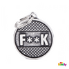 "My Family ID TAG BRONX CIRCLE ""F**K"" PLATFORM"