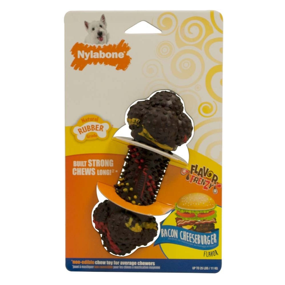 NYLABONE FLAVOR FRENZY DAC BACON CHEESEBURGER FLAVOR