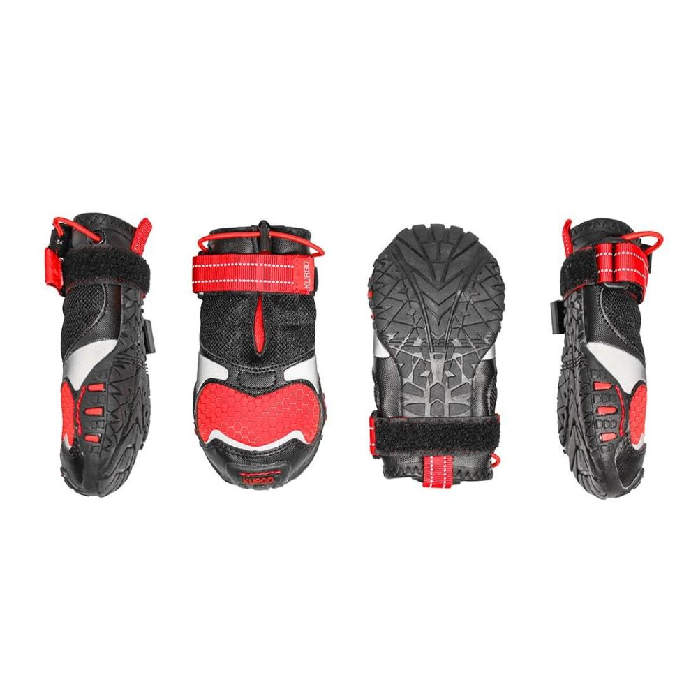 Kurgo Blaze Cross Dog Shoes - Set Of 4