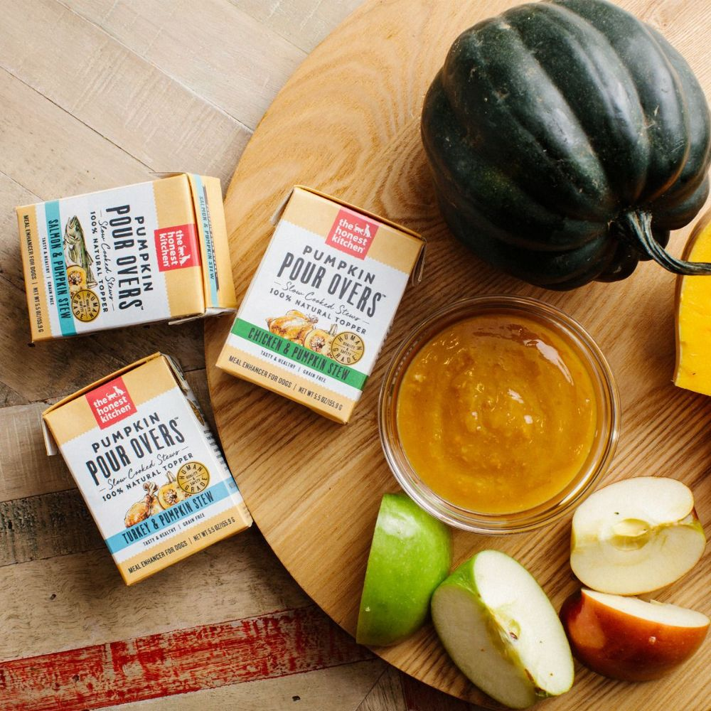 The Honest Kitchen Dog Pour Over Pumpkin Formula