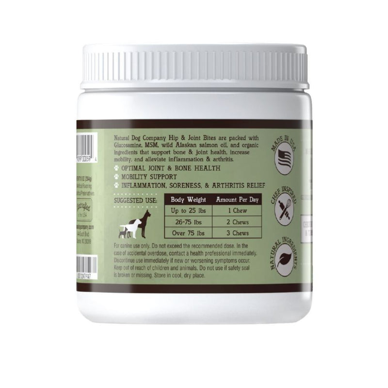 Natural Dog Company Hip & Joint Supplement (90 chews)