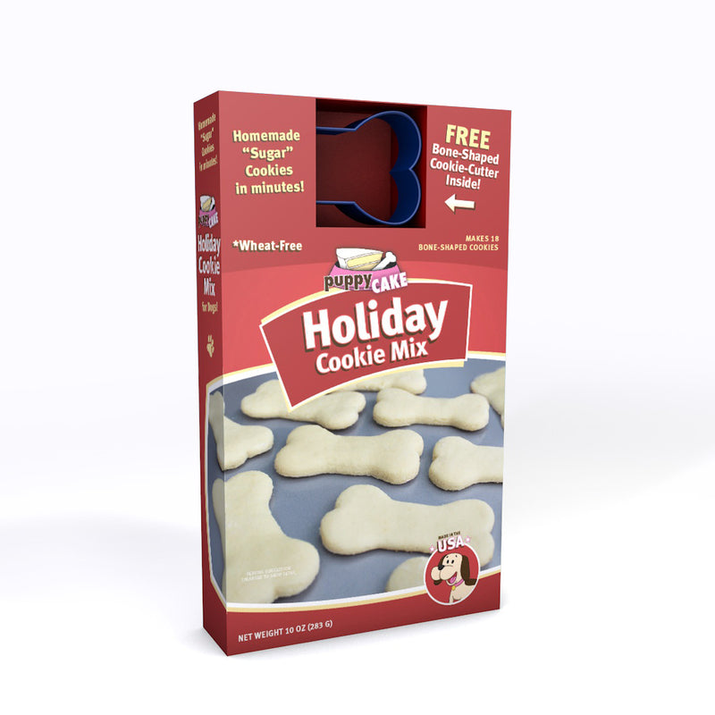 Holiday Cookie Mix and Cookie Cutter (wheat-free)