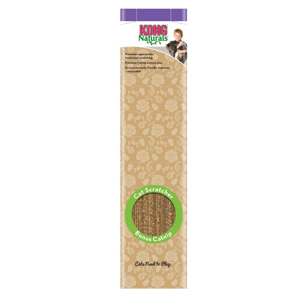 KONG® Naturals Scratcher Single - Cat Scratcher