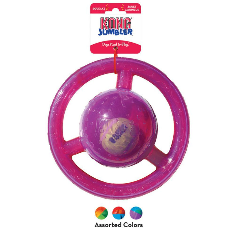 KONG® Jumbler™ Disc Dog Toy