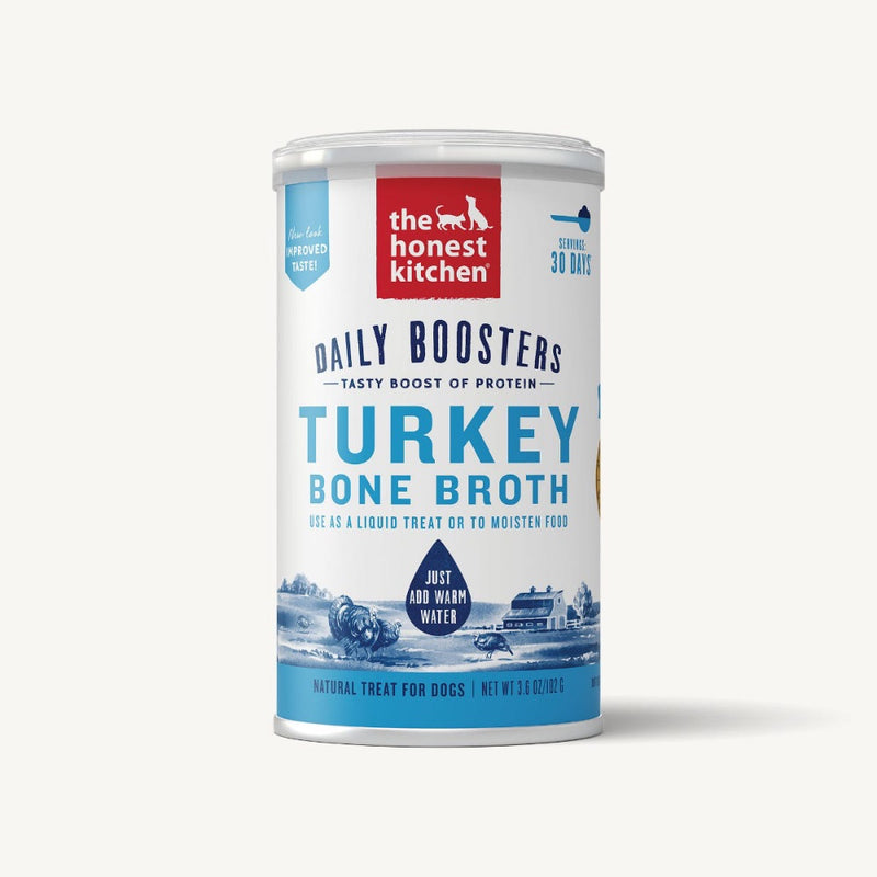 The Honest Kitchen INSTANT BONE BROTH - TURKEY & TURMERIC (3.6oz)