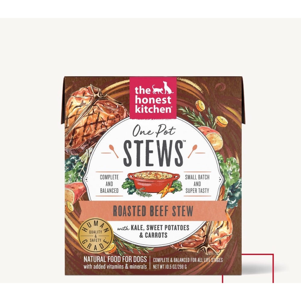 The Honest Kitchen ONE POT STEWS - ROASTED BEEF STEW WITH KALE, SWEET POTATOES & CARROTS
