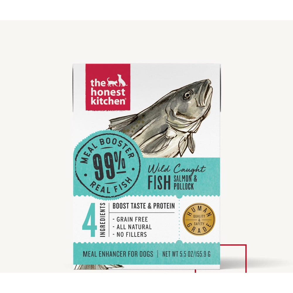 The Honest Kitchen MEAL BOOSTER - 99% SALMON & POLLOCK