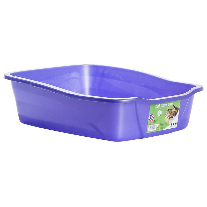 Van Ness Cat Litter Tray- Assorted Colors