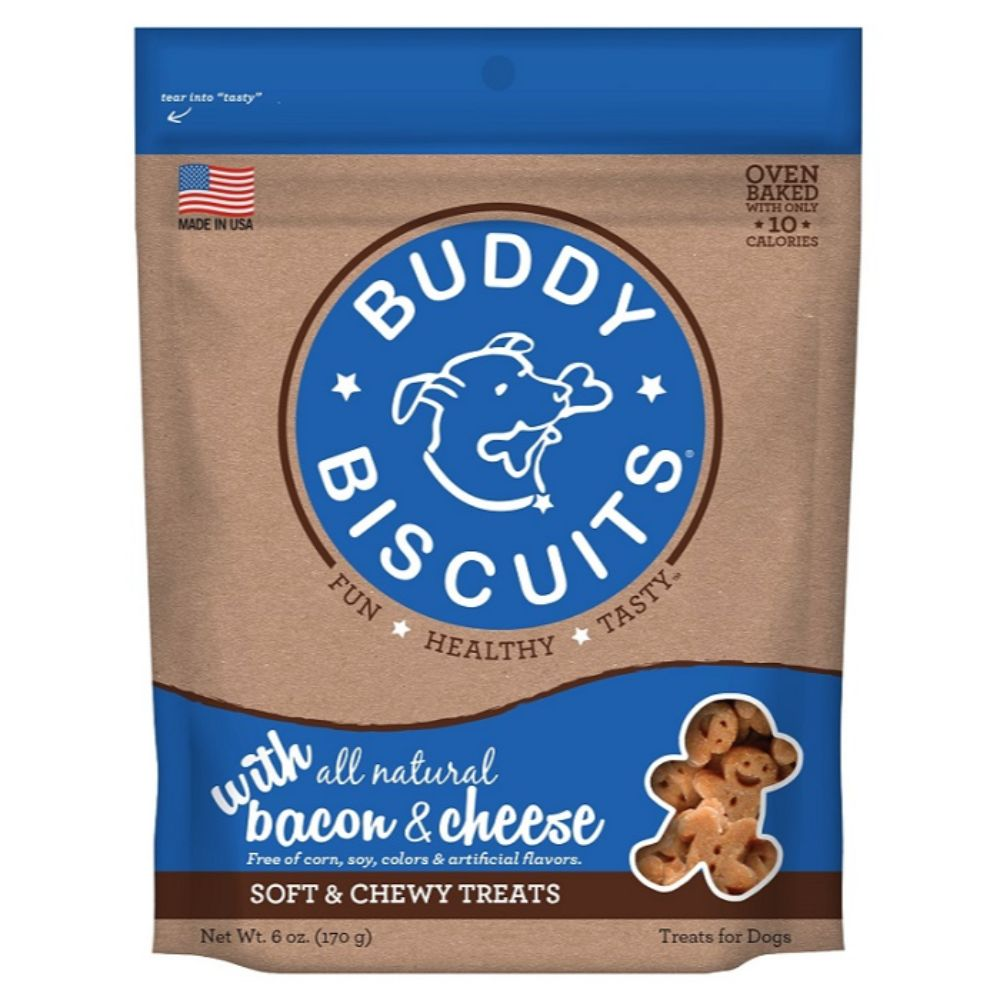Buddy Biscuits® With All Natural Bacon & Cheese