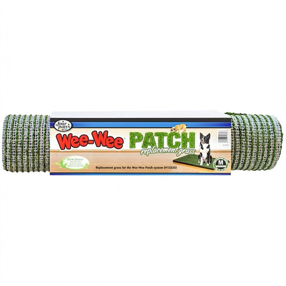 Four Paws Wee Wee Patch Replacement Grass- Medium