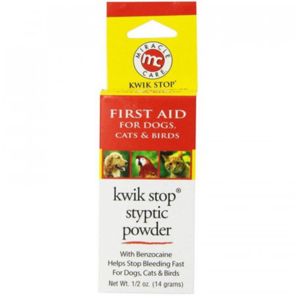 Miracle Care First Aid Kwik Stop Styptic Powder