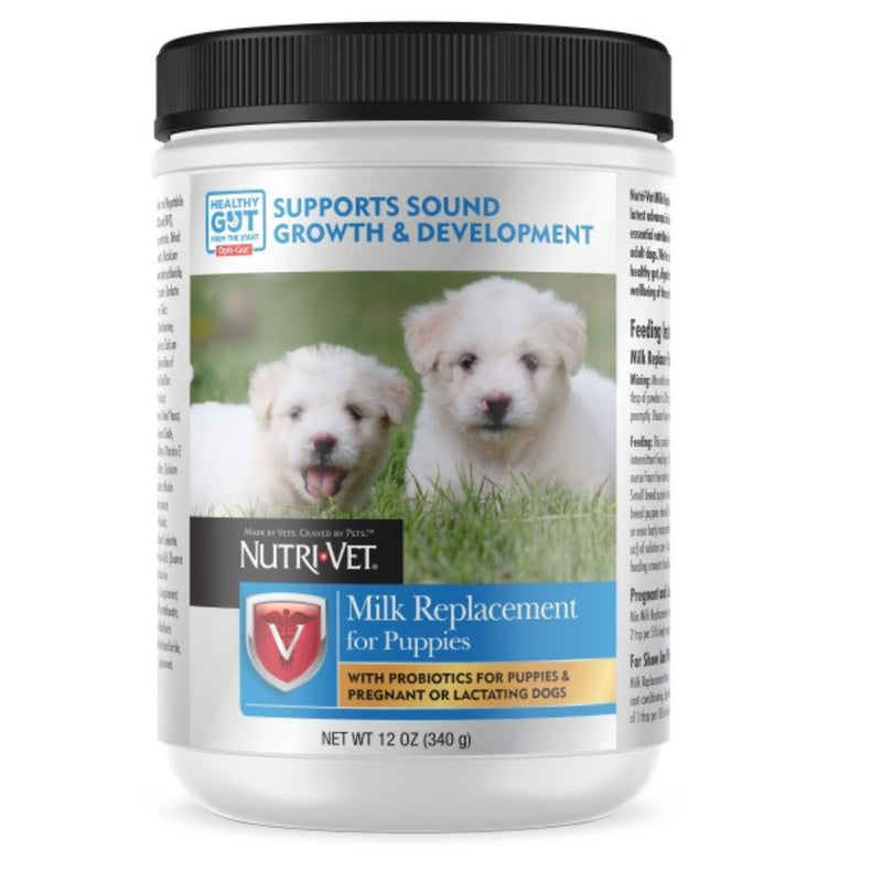 Nutri Vet Puppy Milk Replacement Powder - 12 oz.