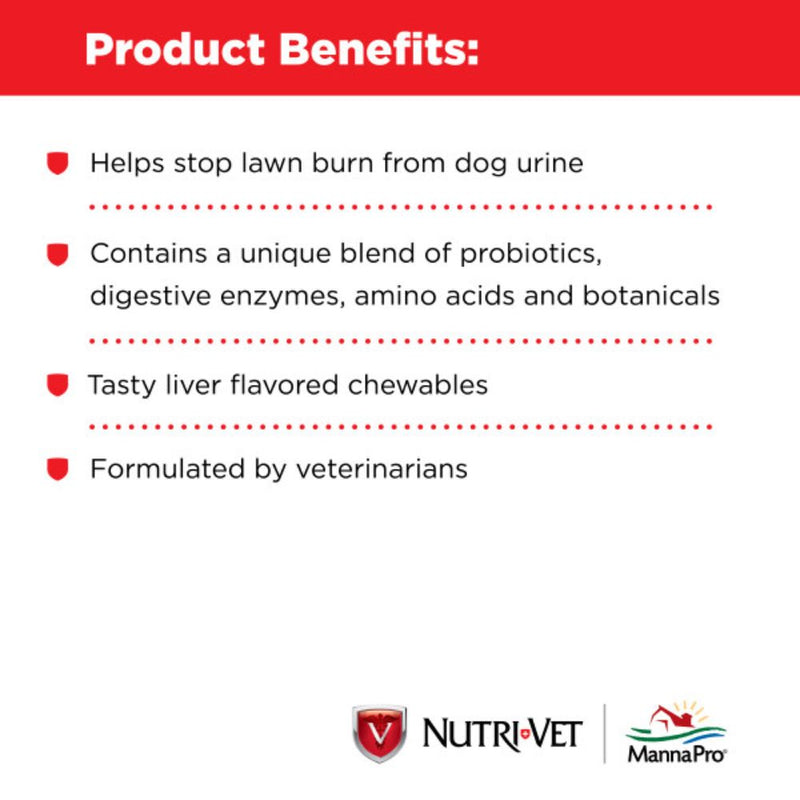 Nutri-Vet Grass Guard Wafers
