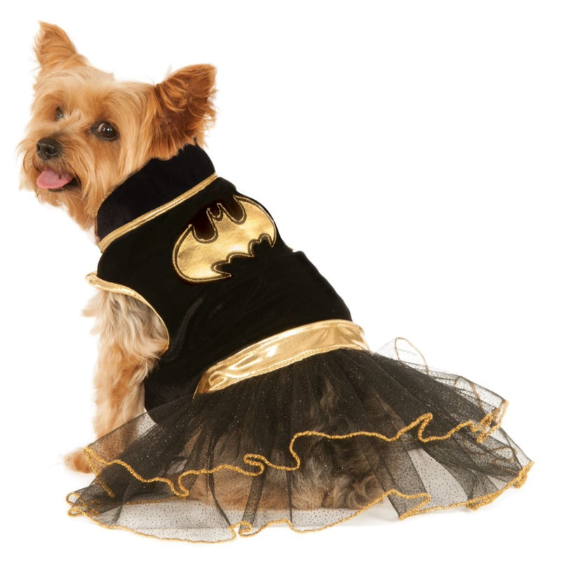 Batgirl Tutu Dress Pet Costume