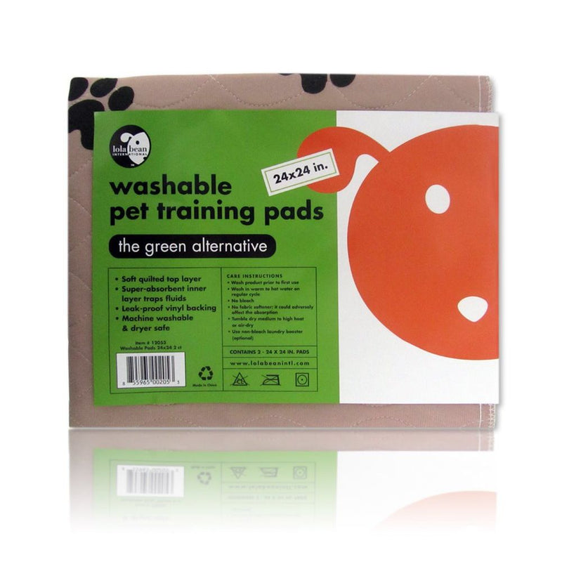 Lola Bean's Washable Pet Training Pads