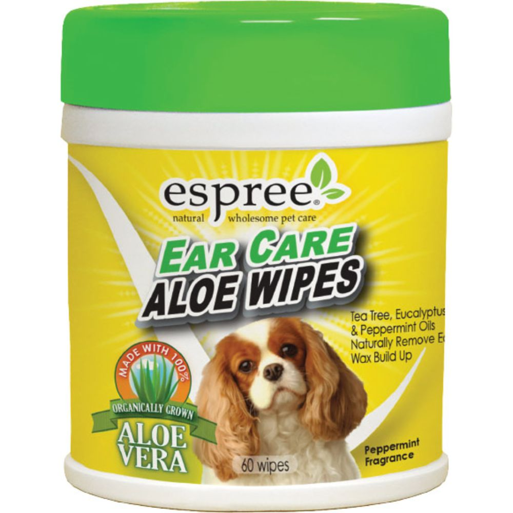 Espree Ear Care Wipes, 60ct
