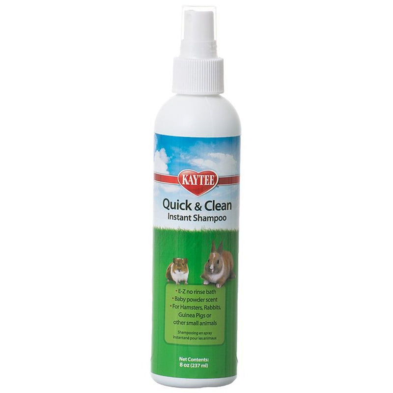 Kaytee Quick & Clean Instant Shampoo for Small Pets 8oz