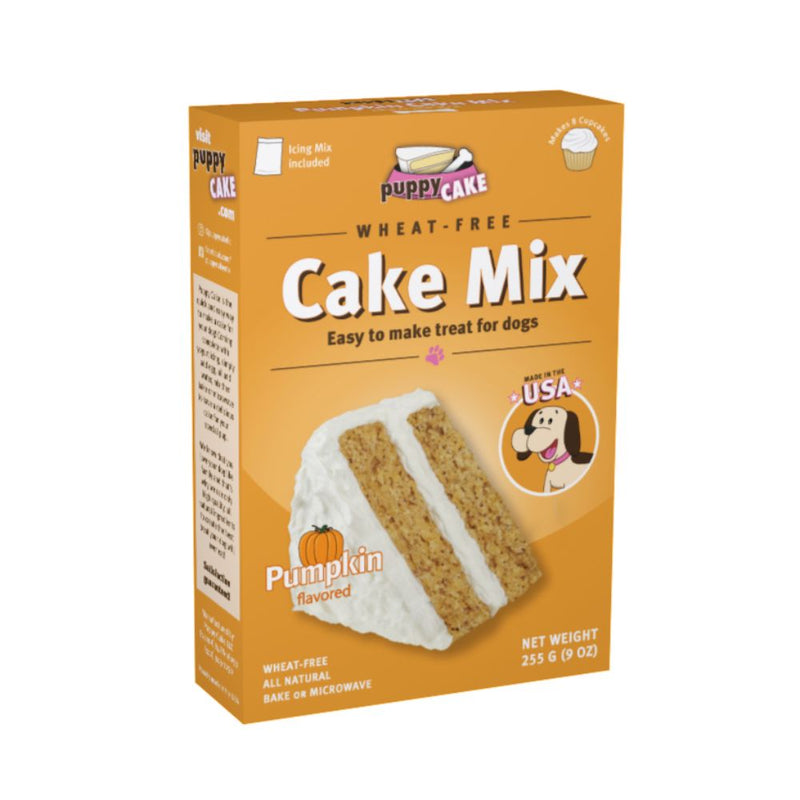 Puppy Cake Mix and Frosting - Pumpkin Spice (Wheat-Free)