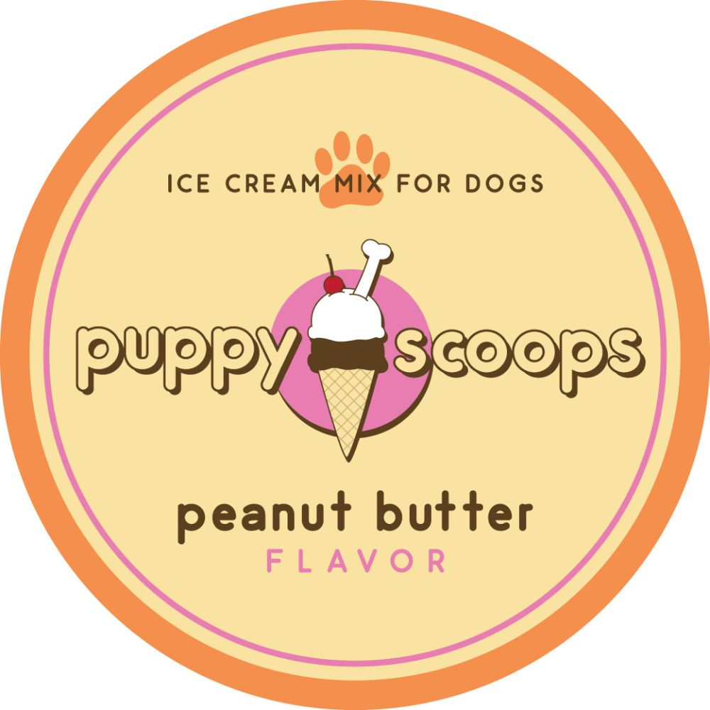 Puppy Scoops Ice Cream Mix - Peanut Butter 16oz