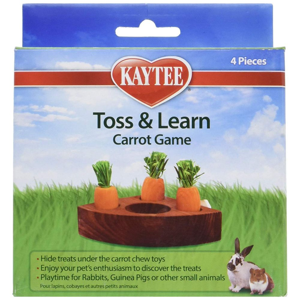 Kaytee Toss & Learn Carrot Game