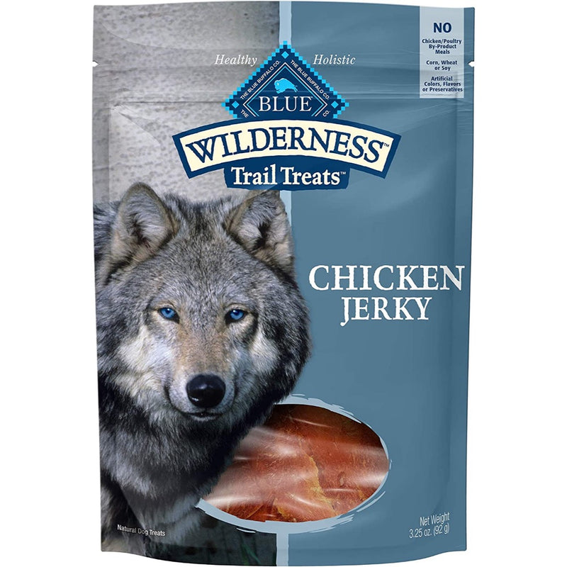 Blue Buffalo Wilderness Chicken Jerky - 3.25oz