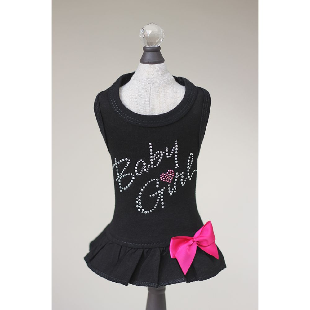 Hello Doggie Baby Girl Dress