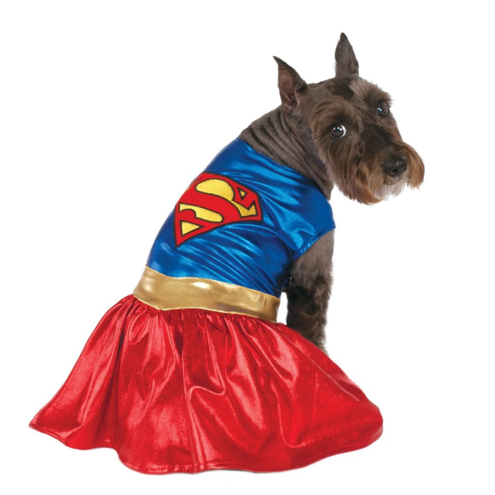 Classic Pet Supergirl Costume (X-Large)