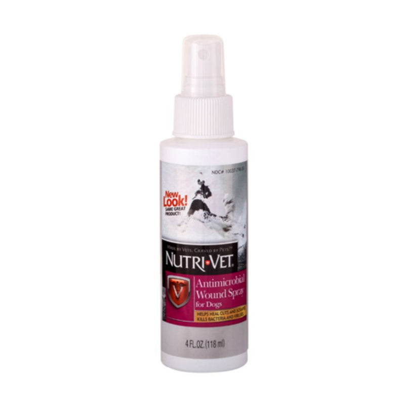 Nutri-Vet Antimicrobial Wound Spray 4 Fl Oz