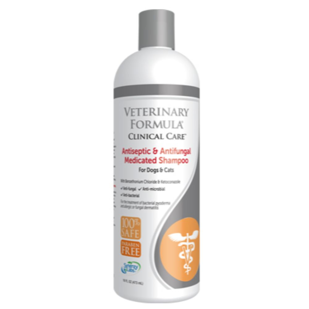 VETERINARY FORMULA CLINICAL CARE ANTISEPTIC & ANTIFUNGAL SHAMPOO