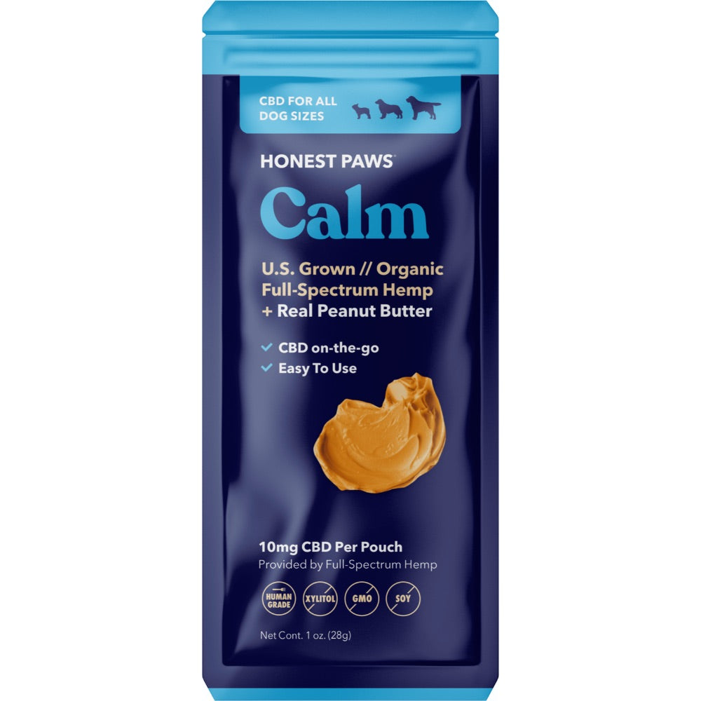 Honest Paws CBD-Infused Peanut Butter Sachet