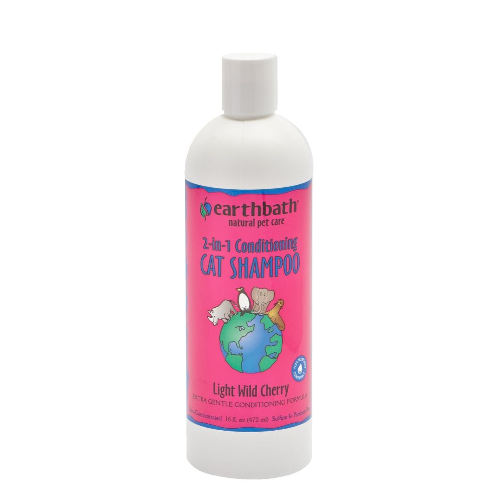 Earthbath 2-in-1 Conditioning Cat Shampoo