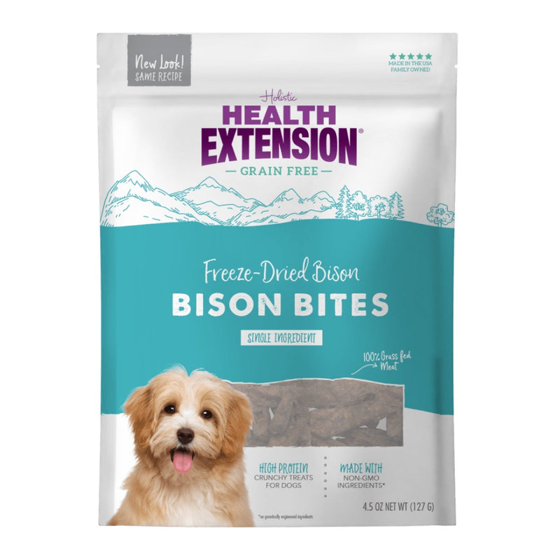 Health Extension Grain Free Freeze Dried Bison Bites