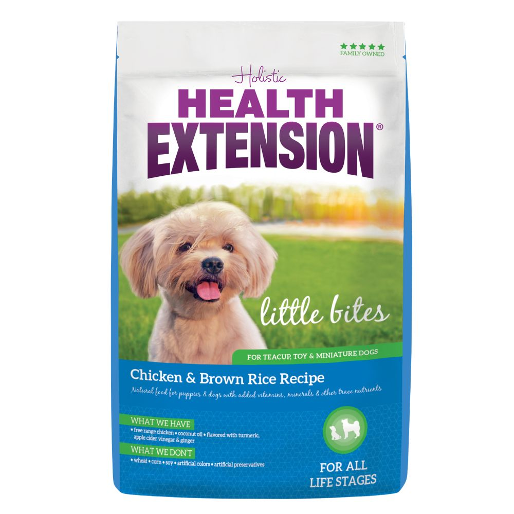 Health Extension Little Bites Chicken & Brown Rice 18lb