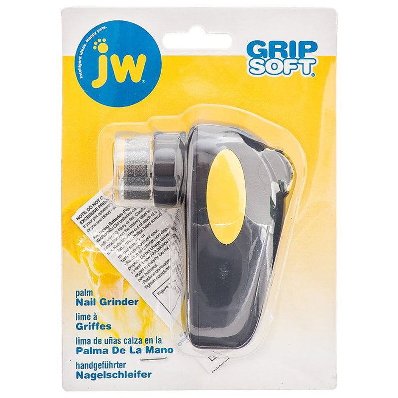 JW Soft Grip Palm Nail Grinder