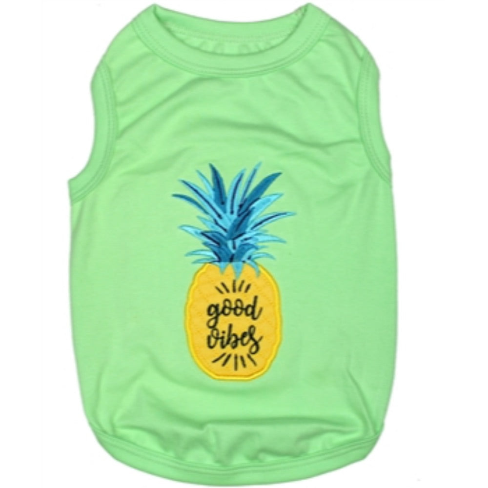 Parisian Pet Pineapple Tee