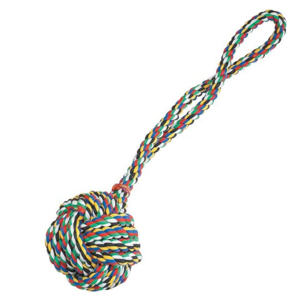 Zanies® Monkey's Fist Knot Rope Toy