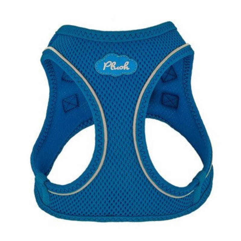 Plush Lapis Blue Step In Vest Air-Mesh Harness