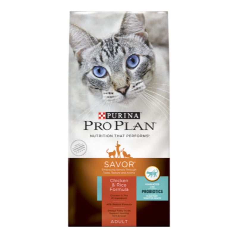 Purina Pro Plan SAVOR Adult Chicken & Rice Formula Dry Cat Food 3.5LB