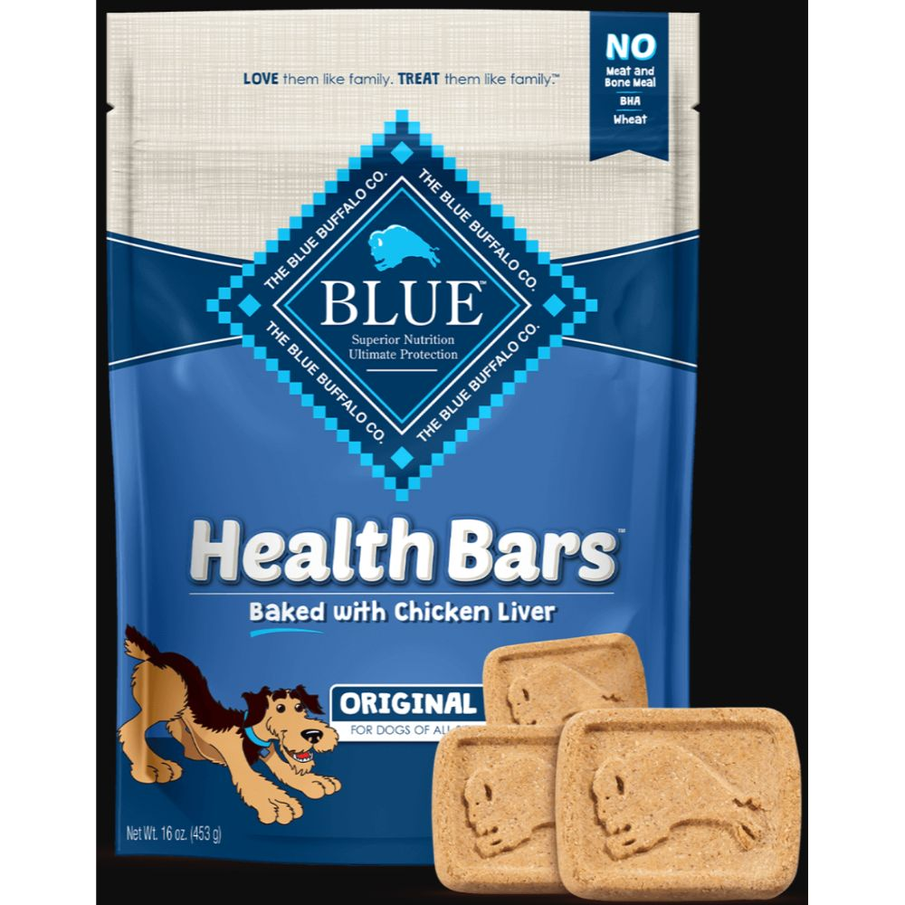 Blue Buffalo Blue Health Bars With Chicken Liver
