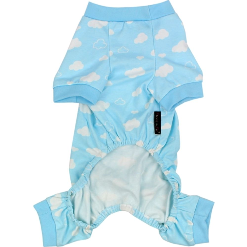Parisian Pet Blue Cloud Pajama