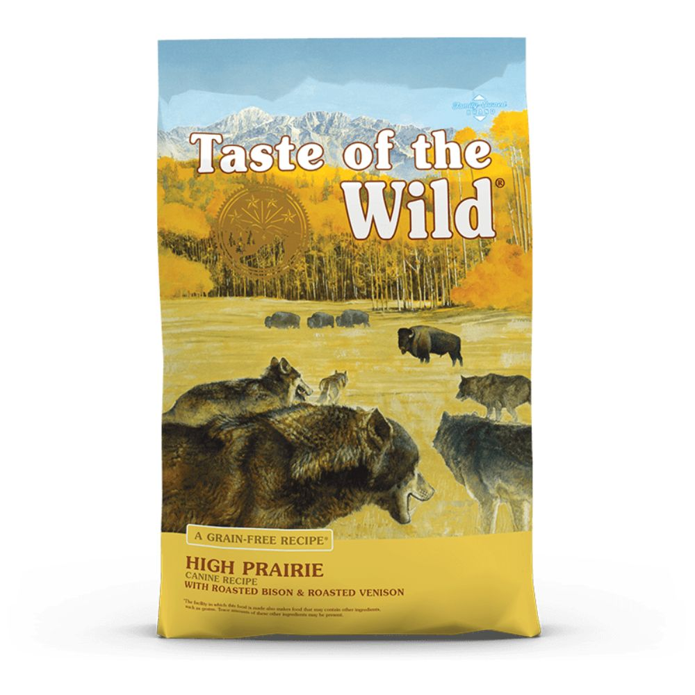 Taste Of The Wild High Prairie Canine Recipe with Roasted Bison & Roasted Venison 28 Lb