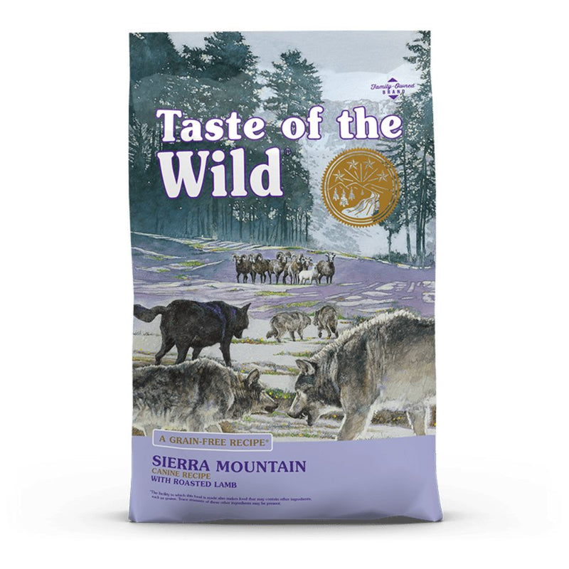 Taste Of The Wild  Sierra Mountain Canine Recipe with Roasted Lamb