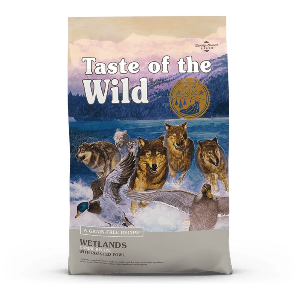 Taste Of The Wild Wetlands Canine Recipe with Roasted Fowl 28 Lb