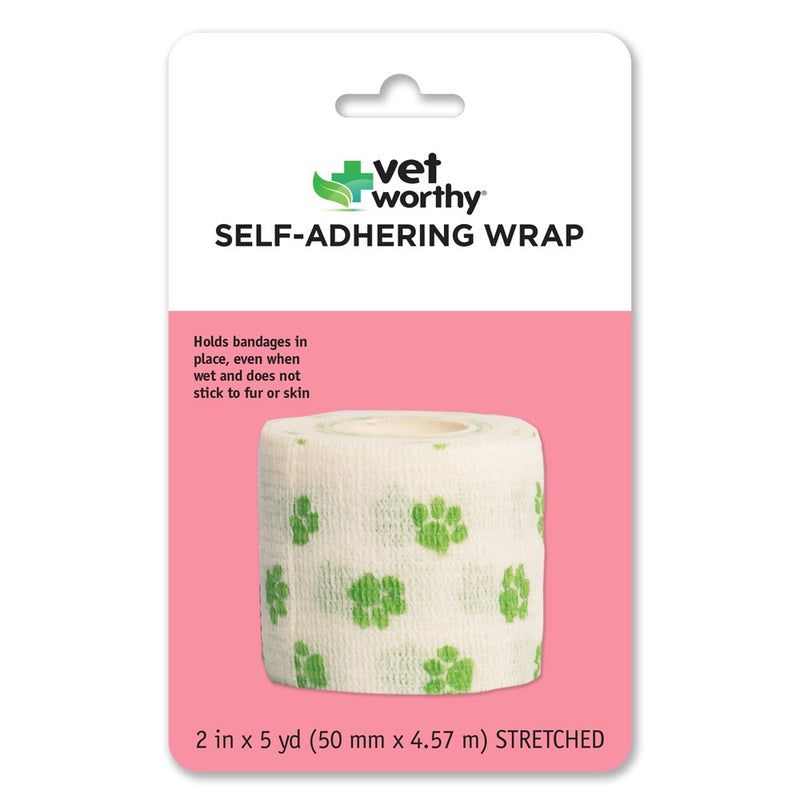 Vet Worthy Pet Adhering Wrap Bandage
