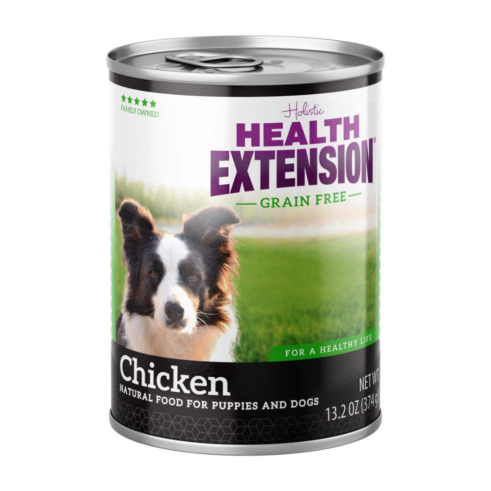 Health Extension Canned Dog Food Chicken