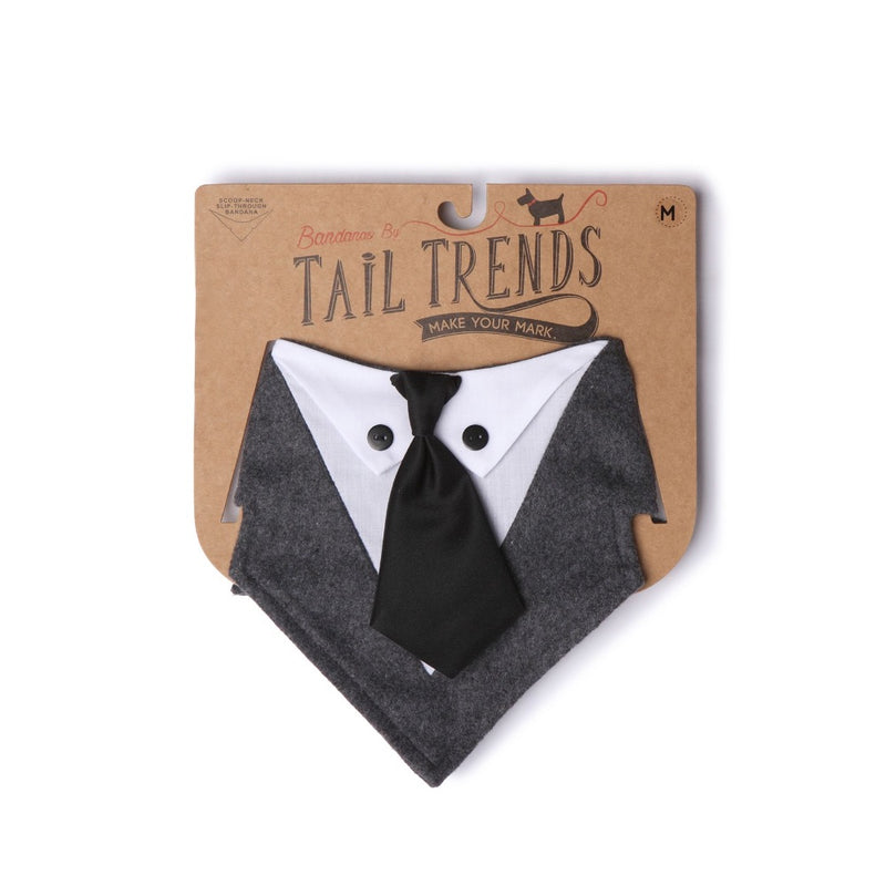 Tail Trends MR. GREY Bandana
