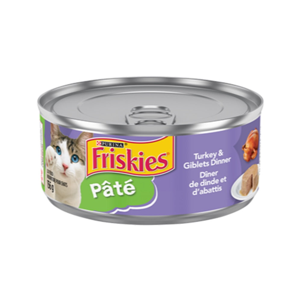 Friskies® Pâté Turkey & Giblets Dinner Wet Cat Food