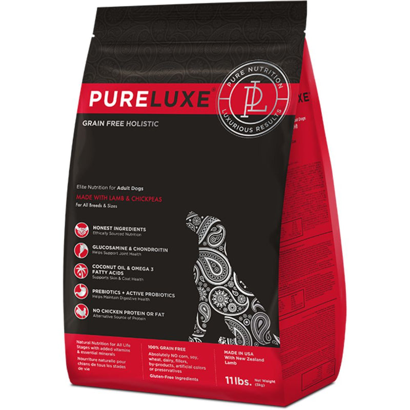 PureLuxe - MADE WITH LAMB & CHICKPEAS