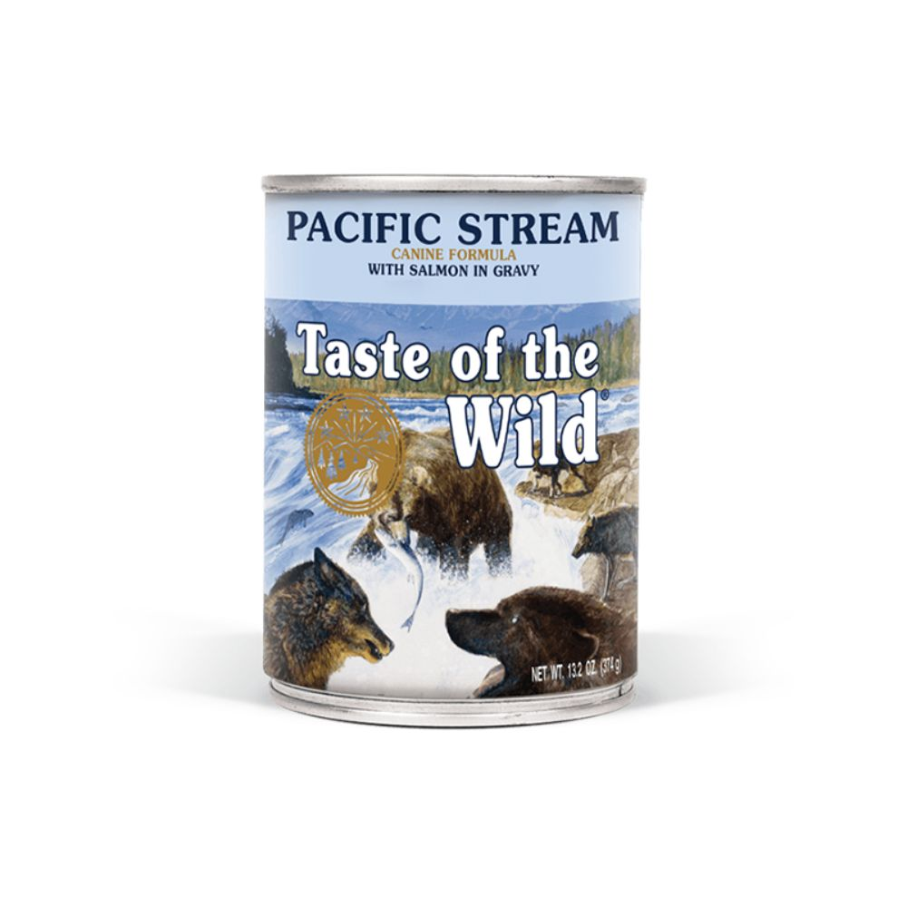 Taste Of The Wild Pacific Stream Canine Formula with Salmon in Gravy