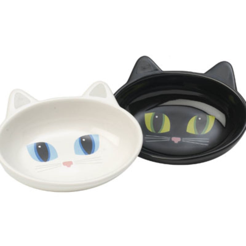 Petrageous Frisky Kitty Stoneware Cat Bowls-1 bowl